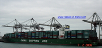 9285990 - CSCL AMERICA (CONTAINER CARRIER)